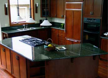 Installing granite tile counter tops, specifically in the kitchen